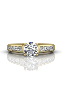 Martin Flyer Channel & Shared Prong Engagement ring DERC01SYQ-C-6.5RD product image