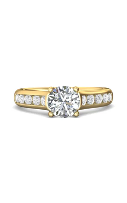 Martin Flyer Channel & Shared Prong Engagement ring DERC01SYQ-F-6.5RD product image