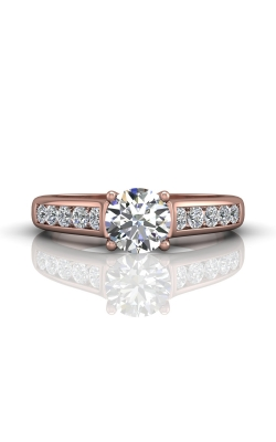 Martin Flyer FlyerFit Channel & Shared Prong Engagement Ring DERC01SPZ-D-6.5RD product image