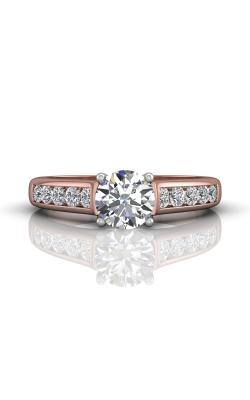Martin Flyer FlyerFit Channel & Shared Prong Engagement Ring DERC01STTPZ-D-6.5RD product image