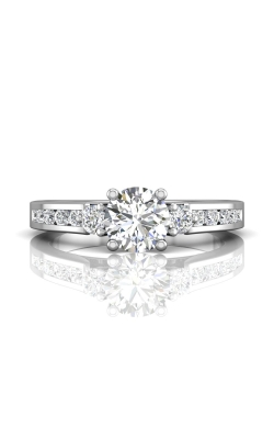Martin Flyer FlyerFit Channel & Shared Prong Engagement Ring DERC03XSPL-C-6.0RD product image