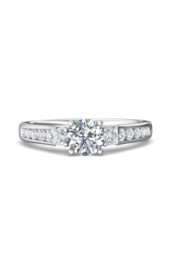 Martin Flyer Channel & Shared Prong Engagement ring DERC03XSQ-F-6.0RD product image