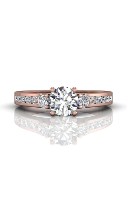 Martin Flyer Channel & Shared Prong Engagement ring DERC03XSPQ-F-6.0RD product image