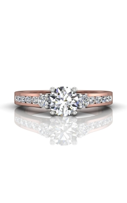 Martin Flyer Channel & Shared Prong Engagement ring DERC03XSTTPQ-F-6.0RD product image