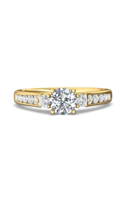 Martin Flyer Channel & Shared Prong Engagement ring DERC03XSYQ-F-6.0RD product image