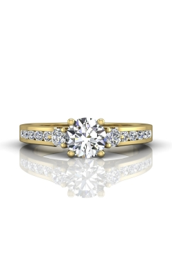 Martin Flyer Channel & Shared Prong Engagement ring DERC03XSYZ-F-6.0RD product image