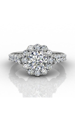 Martin Flyer Channel & Shared Prong Engagement Ring DERHSP04MCUPL-C-7.0RD product image
