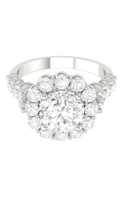 Martin Flyer Channel & Shared Prong Engagement ring DERHSP04MCUQ-C-7.0RD product image