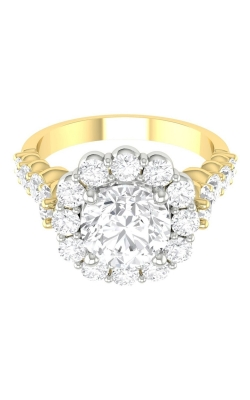 Martin Flyer Channel & Shared Prong Engagement ring DERHSP04MCUTTYQ-D-7.0RD product image