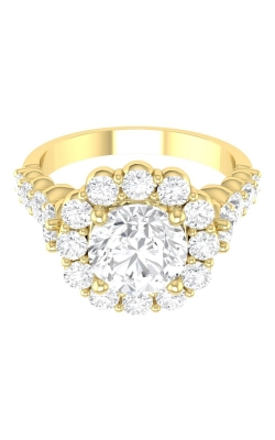 Martin Flyer Channel & Shared Prong Engagement ring DERHSP04MCUYQ-F-7.0RD product image