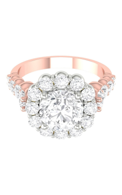 Martin Flyer Channel & Shared Prong Engagement ring DERHSP04MCUTTPZ-F-7.0RD product image