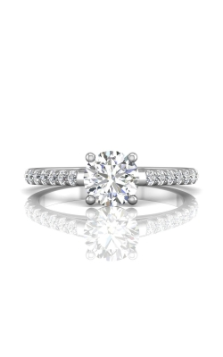Martin Flyer Micropave Engagement Ring DERM18MZ-C-6.5RD product image