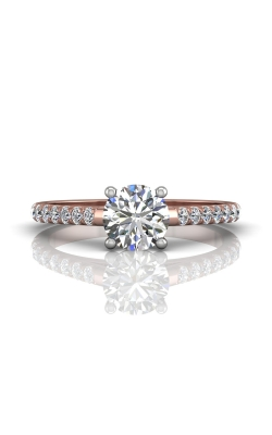 Martin Flyer Micropave Engagement ring DERM18MTTPQ-F-6.5RD product image