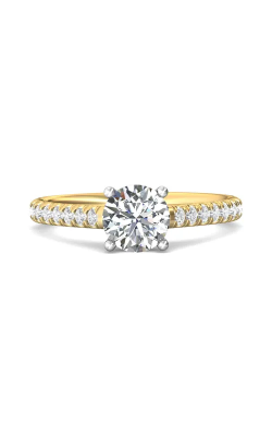 Martin Flyer Micropave Engagement ring DERM18MTTYQ-F-6.5RD product image
