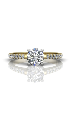 Martin Flyer Micropave Engagement ring DERM18MTTYZ-C-6.5RD product image