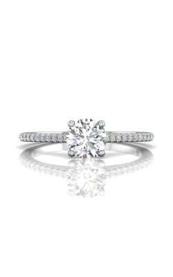 Martin Flyer Flyer Fit Micropave Engagement Ring DERM18XSRQ-F-6.0RD product image