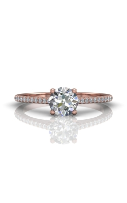 Martin Flyer Micropave Engagement ring DERM18XSRPQ-D-6.0RD product image
