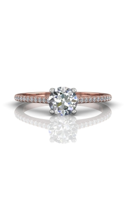 Martin Flyer Flyer Fit Micropave Engagement Ring DERM18XSRTTPQ-F-6.0RD product image