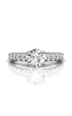 Martin Flyer Micropave Engagement ring DERM34SQ-D-7.0RD product image