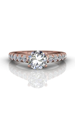 Martin Flyer Flyer Fit Micropave Engagement Ring DERM34SPQ-C-7.0RD product image