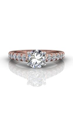 Martin Flyer Flyer Fit Micropave Engagement Ring DERM34STTPQ-D-7.0RD product image