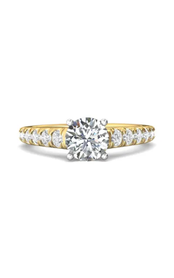Martin Flyer Micropave Engagement ring DERM34STTYQ-D-7.0RD product image