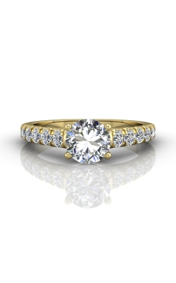 Martin Flyer Micropave Engagement ring DERM34SYQ-C-7.0RD product image