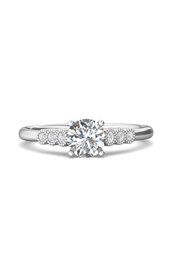 Martin Flyer Channel & Shared Prong Engagement ring DERM43XSZ-F-6.0RD product image
