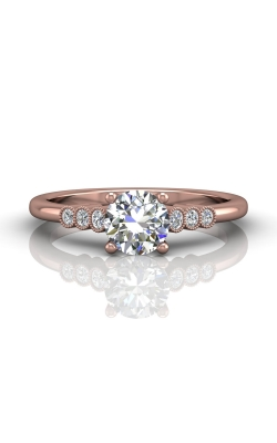 Martin Flyer Channel & Shared Prong Engagement ring DERM43XSPQ-C-6.0RD product image