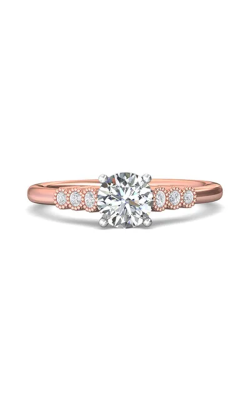 Martin Flyer Channel & Shared Prong Engagement ring DERM43XSTTPQ-D-6.0RD product image