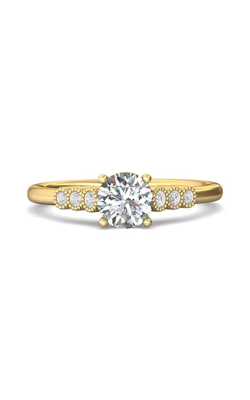 Martin Flyer Channel & Shared Prong Engagement ring DERM43XSYZ-F-6.0RD product image