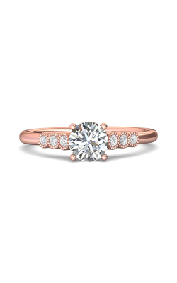 Martin Flyer Channel & Shared Prong Engagement ring DERM43XSPQ-F-6.0RD product image