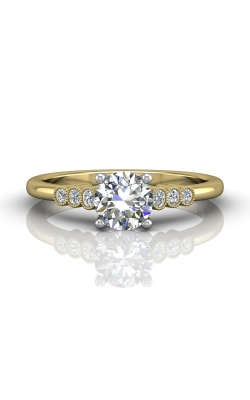 Martin Flyer FlyerFit Channel & Shared Prong Engagement Ring DERM43XSTTYQ-F-6.0RD product image