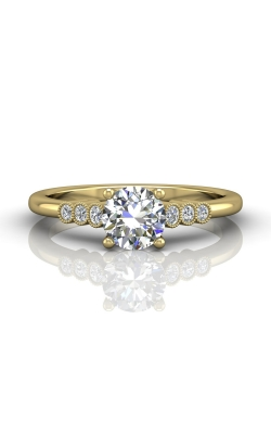Martin Flyer Channel & Shared Prong Engagement ring DERM43XSYQ-F-6.0RD product image