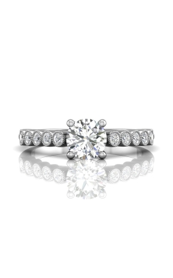 Martin Flyer FlyerFit Channel & Shared Prong Engagement Ring DERM48XSPL-D-6.0RD product image