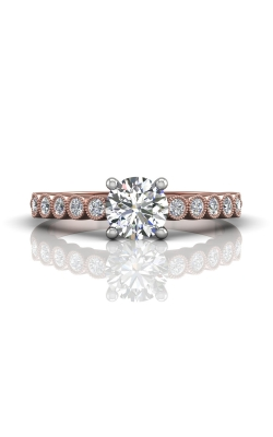 Martin Flyer FlyerFit Channel & Shared Prong Engagement Ring DERM48XSTTPZ-F-6.0RD product image