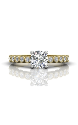 Martin Flyer FlyerFit Channel & Shared Prong Engagement Ring DERM48XSTTYZ-C-6.0RD product image