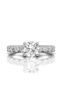 Martin Flyer Micropave Engagement Ring DERM4MZ-C-7.5RD product image