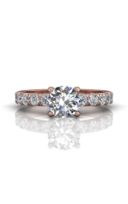 Martin Flyer Micropave Engagement ring DERM4MPQ-C-7.5RD product image