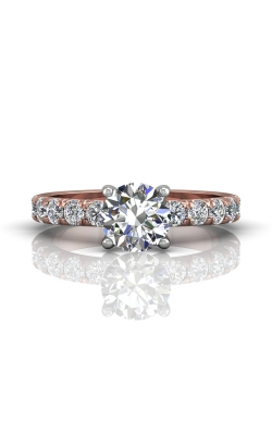 Martin Flyer Micropave Engagement ring DERM4MTTPQ-F-7.5RD product image