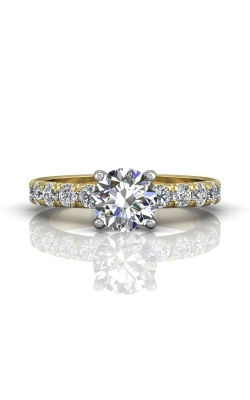 Martin Flyer Flyer Fit Micropave Engagement Ring  DERM4MTTYQ-C-7.5RD product image