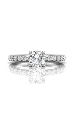 Martin Flyer Flyer Fit Micropave Engagement Ring DERM4SZ-C-6.5RD product image