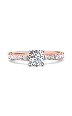 Martin Flyer Micropave Engagement ring DERM4STTPZ-F-6.5RD product image