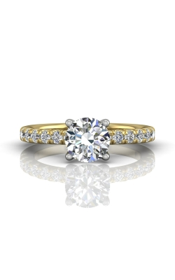 Martin Flyer Micropave Engagement ring DERM4STTYQ-C-6.5RD product image