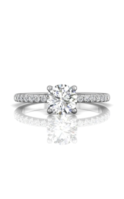 Martin Flyer Micropave Engagement Ring DERM4XSPL-C-6.0RD product image