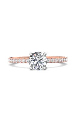Martin Flyer Micropave Engagement ring DERM4XSTTPZ-D-6.0RD product image