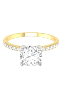 Martin Flyer Micropave Engagement ring DERM4XSTTYZ-D-6.0RD product image