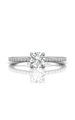 Martin Flyer Micropave Engagement ring DERM4XXSQ-C-5.0RD product image