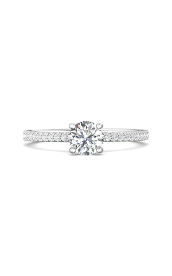Martin Flyer Micropave Engagement ring DERM4XXSQ-D-5.0RD product image
