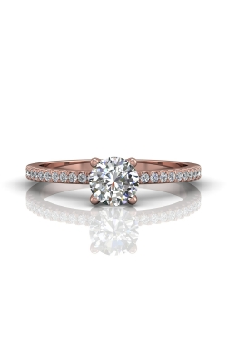 Martin Flyer Micropave Engagement ring DERM4XXSPZ-F-5.0RD product image